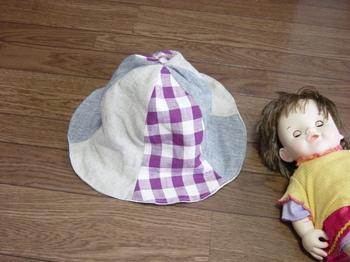 チューリップ帽子